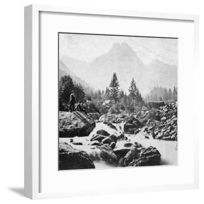 The Wellhorn at Rosenlain, Switzerland, Early 20th Century-Underwood & Underwood-Framed Giclee Print