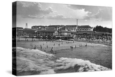 Durban Beach, South Africa--Stretched Canvas Print