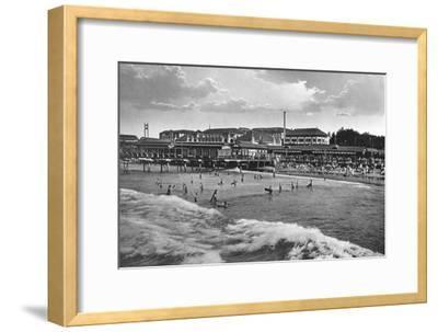 Durban Beach, South Africa--Framed Giclee Print