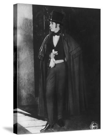 Rudolph Valentino (1895-192), Italian Actor, C1920s--Stretched Canvas Print