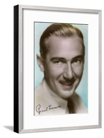 Paul Lukas (1895-197), Hungarian Actor, C1930S--Framed Giclee Print