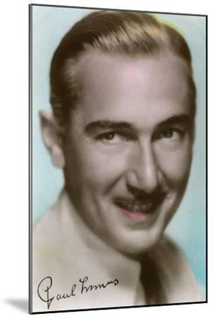 Paul Lukas (1895-197), Hungarian Actor, C1930S--Mounted Giclee Print