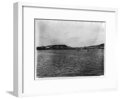 Vladivostok - Panoramic View from Harbor-William Henry Jackson-Framed Giclee Print