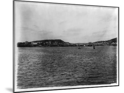 Vladivostok - Panoramic View from Harbor-William Henry Jackson-Mounted Giclee Print