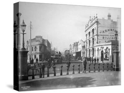 Oxford Street, Sydney, New South Wales, Australia, C1885--Stretched Canvas Print