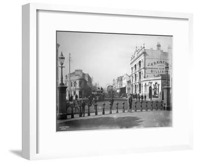 Oxford Street, Sydney, New South Wales, Australia, C1885--Framed Giclee Print