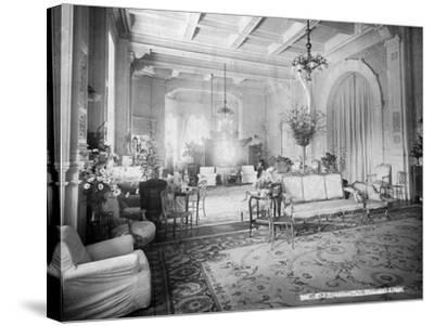 The Reception Hall, Viceregal Lodge, India, 20th Century--Stretched Canvas Print