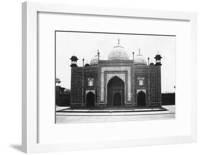 Taj Mahal Mosque (Or Masji), Agra, India, 1916-1917--Framed Giclee Print