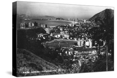 Copacabana, Rio De Janeiro, Brazil, C1937--Stretched Canvas Print