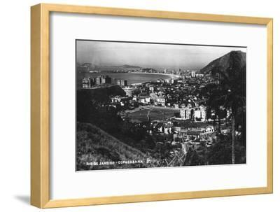 Copacabana, Rio De Janeiro, Brazil, C1937--Framed Giclee Print
