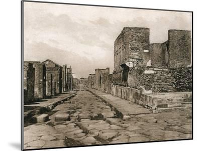 Tempio Della Fortuna, Pompeii, Italy, C1900s--Mounted Giclee Print