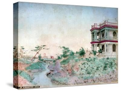 Warakuyen Hiogo (Hyogo Prefectur), Japan--Stretched Canvas Print