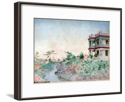 Warakuyen Hiogo (Hyogo Prefectur), Japan--Framed Giclee Print
