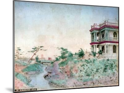 Warakuyen Hiogo (Hyogo Prefectur), Japan--Mounted Giclee Print