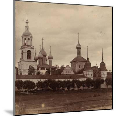 The Tolga Convent in Yaroslavl, 1910-Sergey Mikhaylovich Prokudin-Gorsky-Mounted Giclee Print