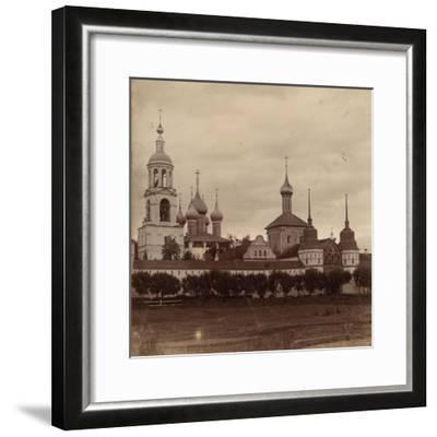 The Tolga Convent in Yaroslavl, 1910-Sergey Mikhaylovich Prokudin-Gorsky-Framed Giclee Print
