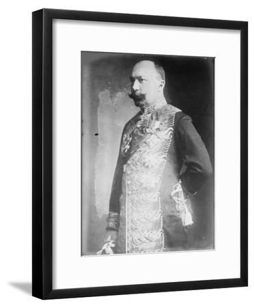 Pyotr Lvovich Bark (1869-193), C. 1916--Framed Giclee Print