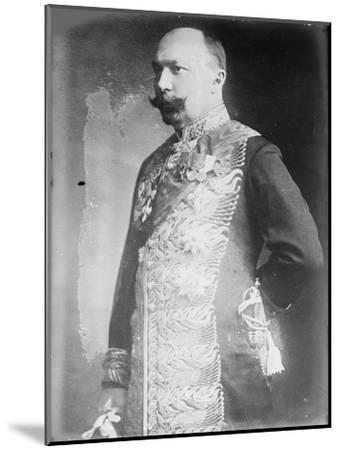 Pyotr Lvovich Bark (1869-193), C. 1916--Mounted Giclee Print