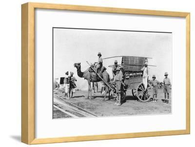 A Camel Cart, India, 1916-1917--Framed Giclee Print