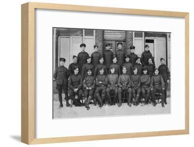 Wwi Royal Flying Corps--Framed Giclee Print