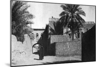 Kazimain, Iraq, 1917-1919--Mounted Giclee Print