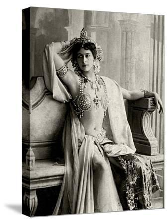 Mata Hari, 1906--Stretched Canvas Print