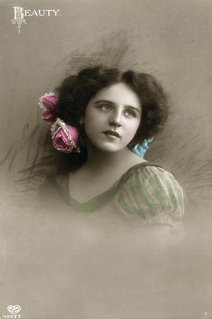 Beauty, C1890-1910- Schwerdffeger & Co-Stretched Canvas Print
