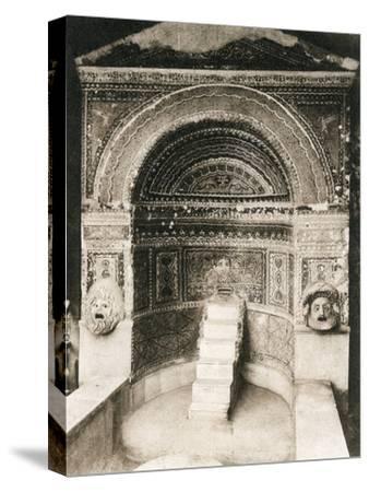 Grande Fontana, Pompeii, Italy, C1900s--Stretched Canvas Print