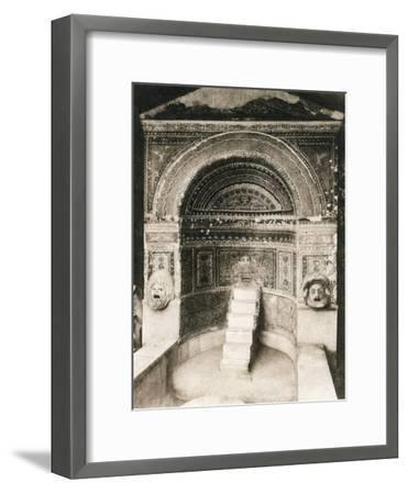 Grande Fontana, Pompeii, Italy, C1900s--Framed Giclee Print