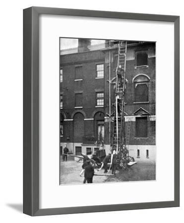 Fire Engine, Late 19th Century--Framed Giclee Print