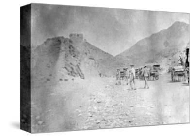 Fort in the Khyber Pass, 1917--Stretched Canvas Print