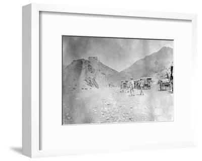 Fort in the Khyber Pass, 1917--Framed Giclee Print