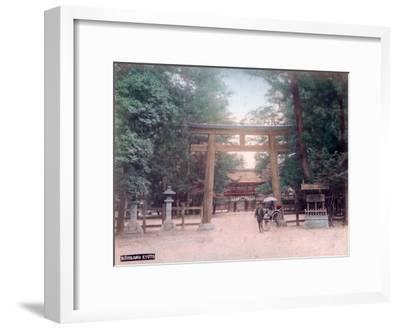 Torii, Shrine Gate, Nishigamo, Kyoto, Japan--Framed Giclee Print