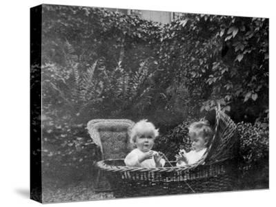 One Year Old, 1915--Stretched Canvas Print