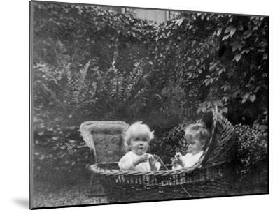 One Year Old, 1915--Mounted Giclee Print