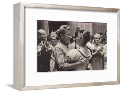 Alicia Alonso and Yekaterina Furtseva, 1958--Framed Giclee Print