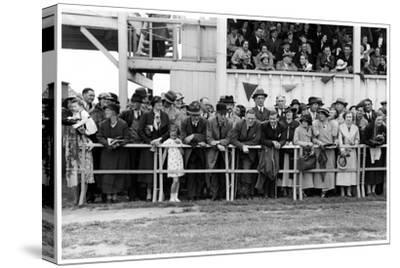 Crowd at the Races, C1920-1939--Stretched Canvas Print