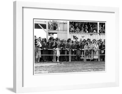 Crowd at the Races, C1920-1939--Framed Giclee Print