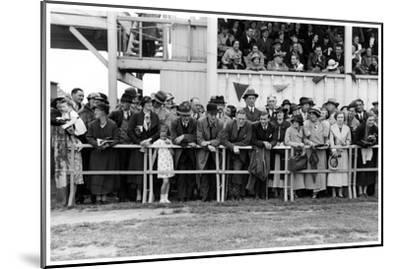 Crowd at the Races, C1920-1939--Mounted Giclee Print