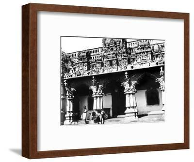 Temple, Singapore, 1900--Framed Giclee Print
