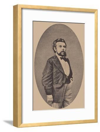 Modest Mussorgsky, 1873--Framed Giclee Print