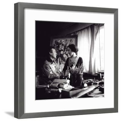 Marc and Bella Chagall, August 1934, Paris, 1934--Framed Giclee Print