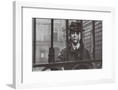 Alexandra Nazarova as Sophia Perovskaya, 1967--Framed Giclee Print