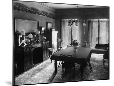 Edwardian Dining Room, 1909--Mounted Giclee Print