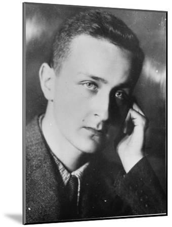 Georgy Efron, 1940--Mounted Giclee Print