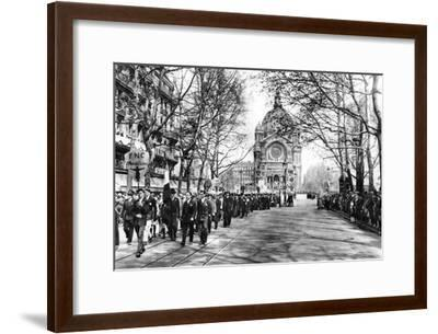 Commemorating Joan of Arc at the Church of St Augustin, Paris, 1931-Ernest Flammarion-Framed Giclee Print