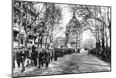 Commemorating Joan of Arc at the Church of St Augustin, Paris, 1931-Ernest Flammarion-Mounted Giclee Print