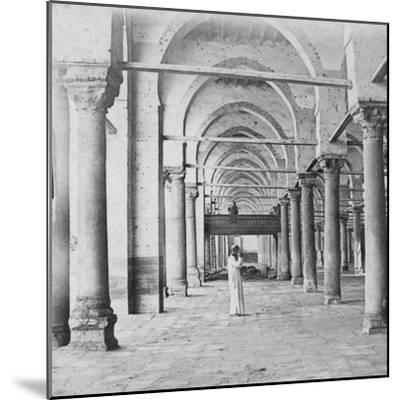 Colonnade, Cairo, Egypt, Late 19th or Early 20th Century-G Lekegian-Mounted Giclee Print