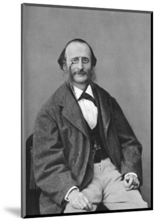 Jacques Offenbach (1819-188), German-Born French Composer, Cellist and Impresario of the Romantic-Felix Nadar-Mounted Giclee Print