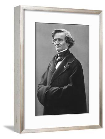 Hector Berlioz (1803-186), French Romantic Composer-Felix Nadar-Framed Giclee Print